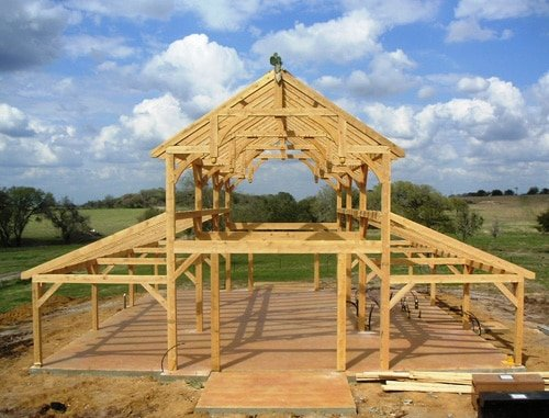 pole barn framing instructions