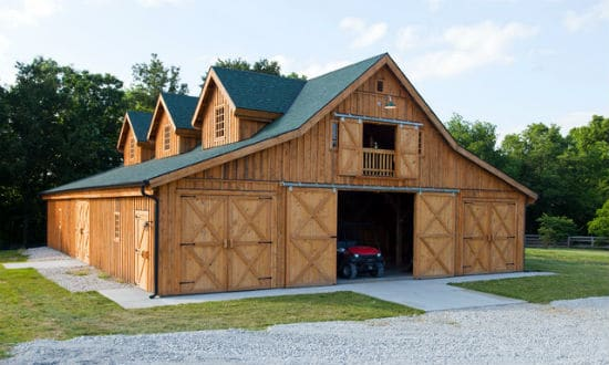 Build your own pole barn perfect project for your home for Pole barn style garage