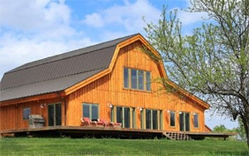 building your own pole barn home