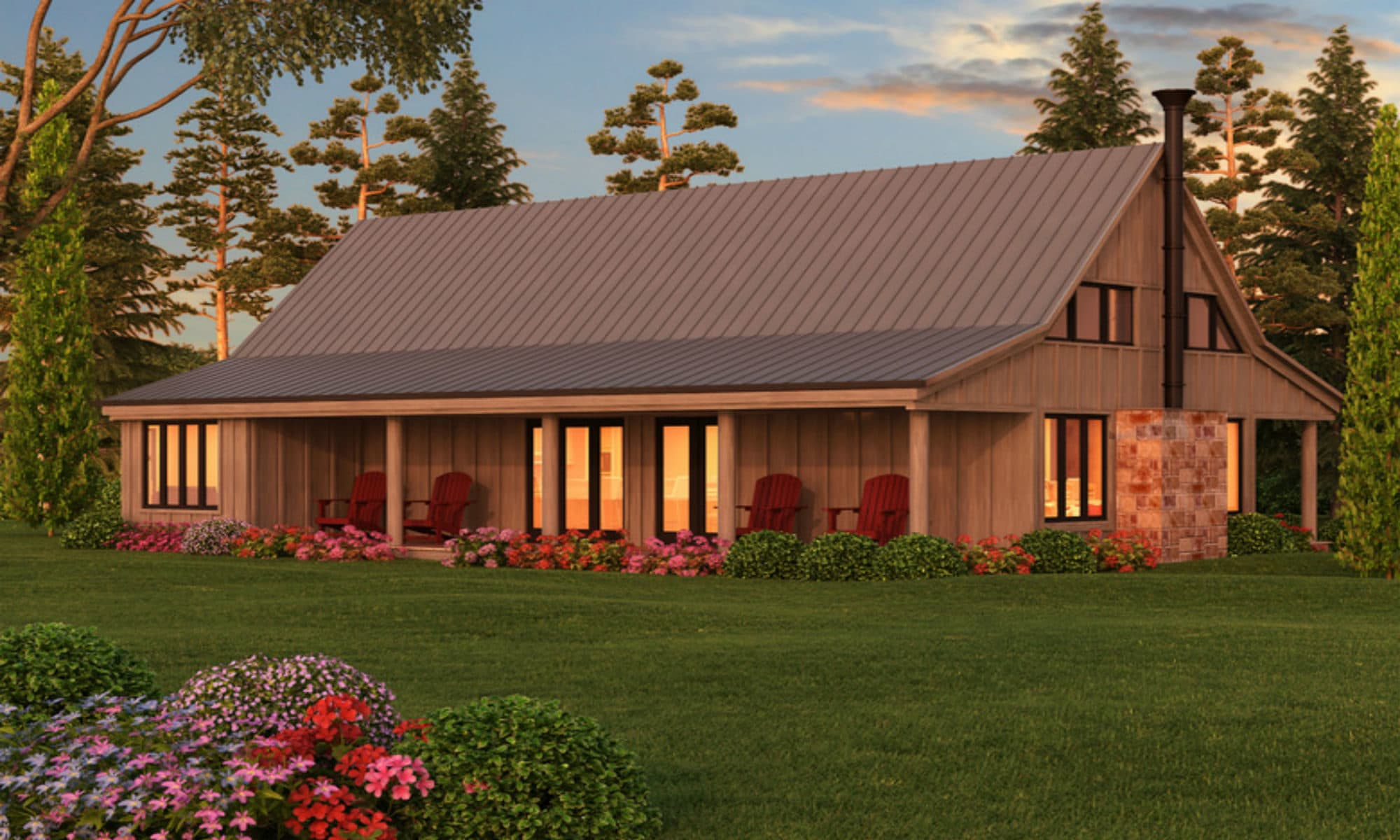 Pole barn homes for Metal pole barn house plans